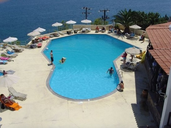 Elounda, Greece: pool