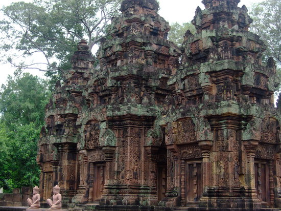 Siem Reap, Cambodja: Banterey Srei
