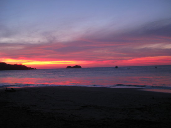 Playa Hermosa, Costa Rica: Sunset