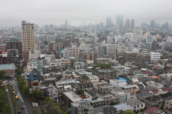 Meguro, Japan: The view from the room
