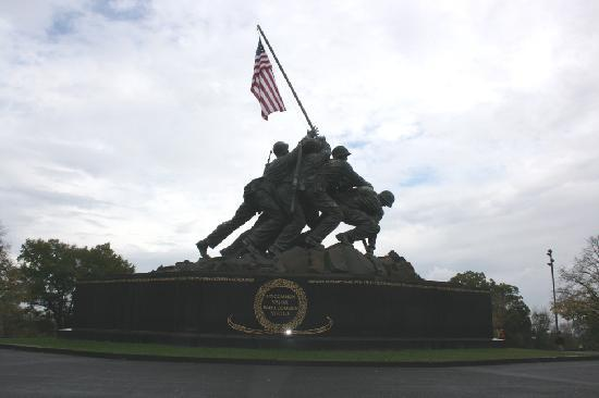 Arlington, VA: USMC War Memorial