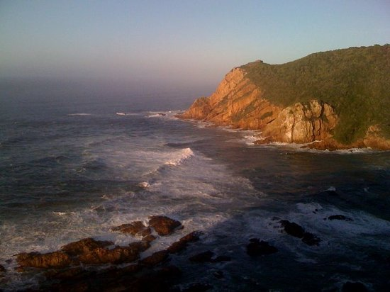 Knysna, Afrika Selatan: Morning sun from the balcony