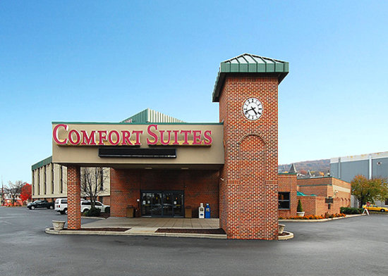 Comfort Suites University: Comfort Suites Main Entrance