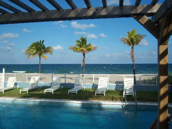 Tides Inn Resort: The view from the lounge chairs!