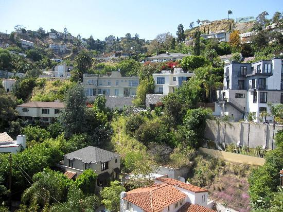 Chateau Marmont: View from 7th floor