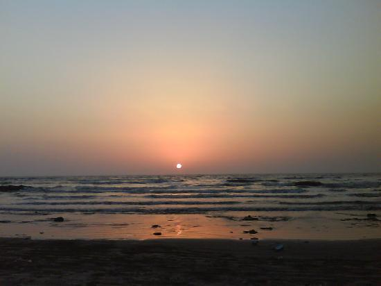 saswane(Alibaug) beach sunset