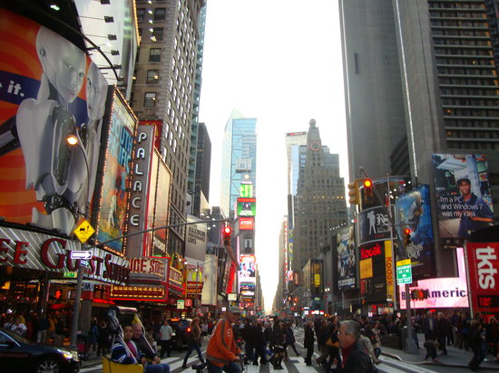 New York City, NY: times square