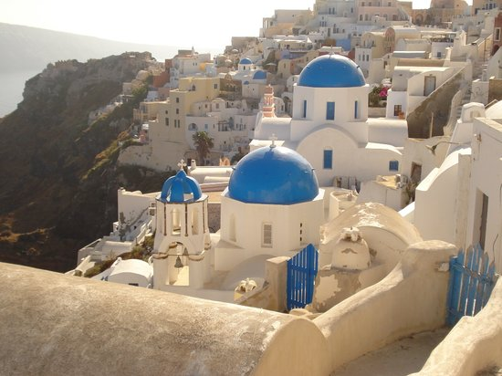 Old Oia Houses: Santorini