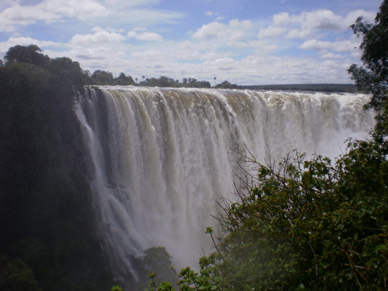 Victoria Falls, Zimbabwe: Vic Falls stunning if a bit wet Apr 2010