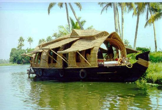 Alappuzha, Indien: houseboat