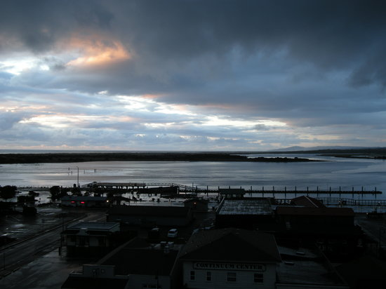 Bandon, OR: View from the balcony