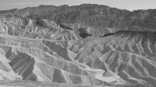 Death Valley National Park, Kalifornien: Zabriskie Point