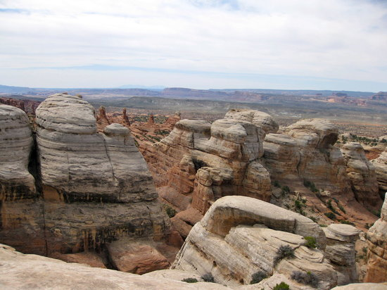Moab, UT: view at klondike bluff