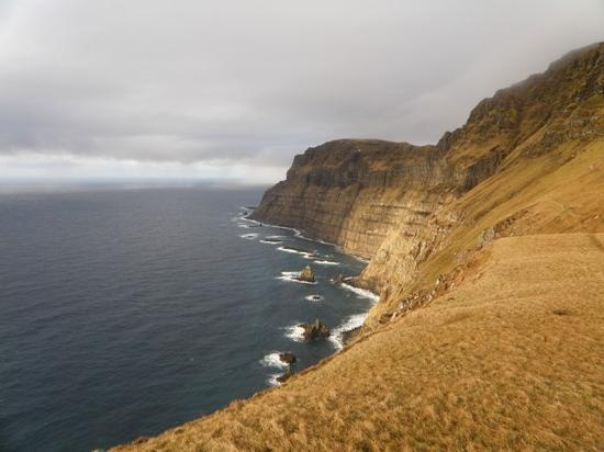 les Fro : West Coast of Suduroy, near Trongisvagur, Faroe Islands 