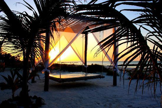 Holbox Dream Hotel : Playa hotel 
