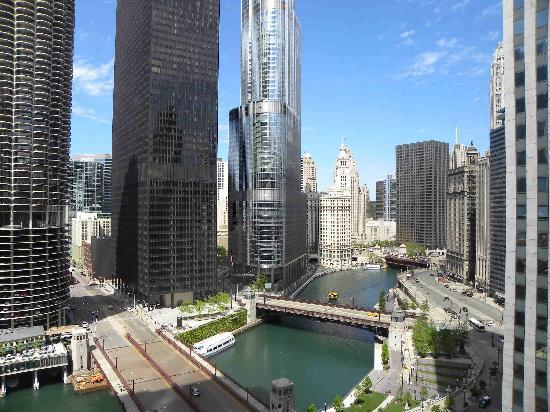 Chicago Renaissance Hotel Great River View From 18th