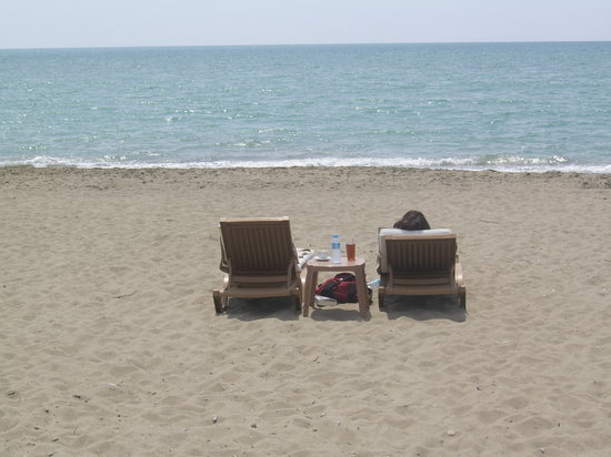 Belek, Turcja: Lonely beach