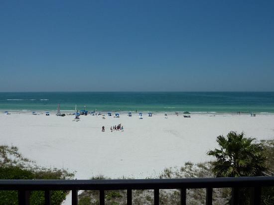 Gulf Beach Resort: View from the balcony #1