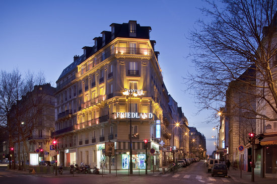 Hotel champs elysees friedland paris france hotel for Top hotel france