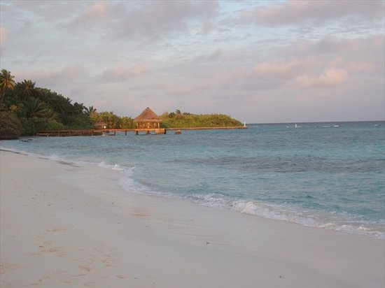 Faafu Atoll: Golden afternoon