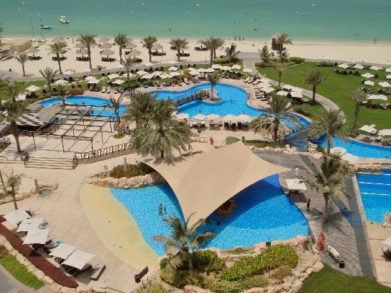 The Swimming Pool Picture Of The Westin Dubai Mina Seyahi Beach Resort Marina Dubai