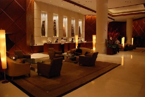 Hotel Foyer Images : Hotel foyer picture of fairmont singapore