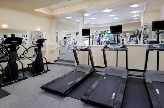 Town country resort fitness center picture of town and for Wellness retreat san diego