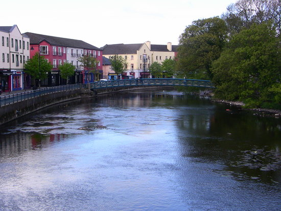 Sligo, : The Garavogue river