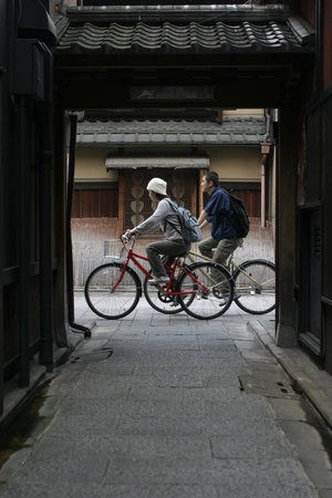 Kyoto cycling tour project