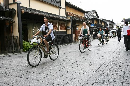 Photos of Kyoto cycling tour project, Kyoto