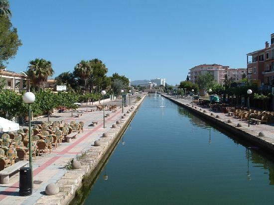 The Canals Are Everywhere In Alcudia Picture Of