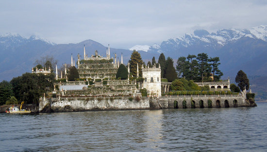 Stresa, Italie : Interesting buildings, beautiful views.