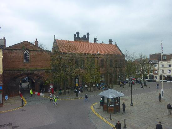 The Coach House: Town Square view