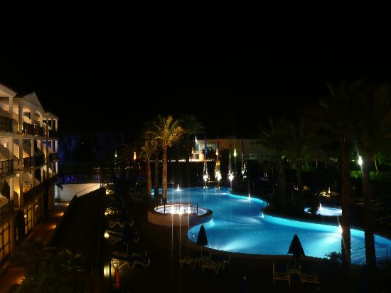 Inturotel Sa Marina & Es Sivinar: pool by night