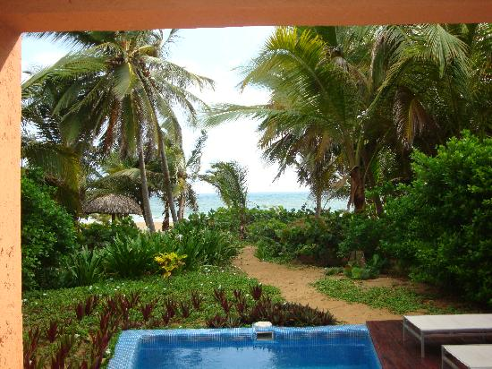 Sivory Punta Cana Boutique Hotel: View from our room
