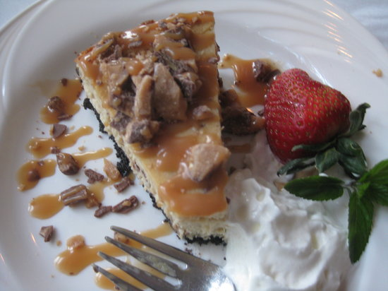 Kill Devil Hills, NC: Heath bar cheesecake