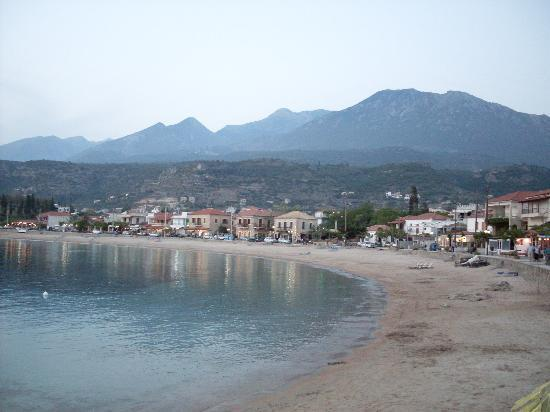 Stoupa main beach