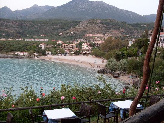 Stoupa, Greece: Kalogria beach