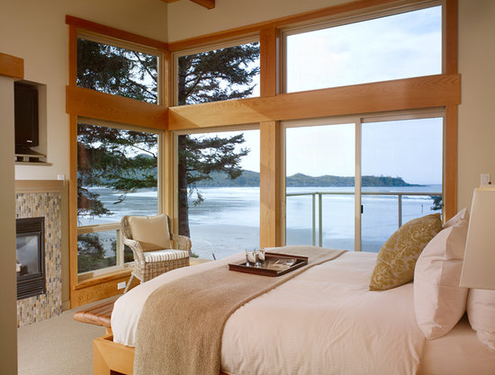 Pacific Sands Beach Resort : Luxury Villa Master Bedroom