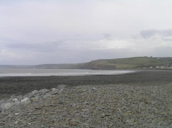 Aberaeron, UK: View at the beach