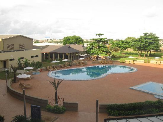 Golden Tulip Festac Lagos: View from our room