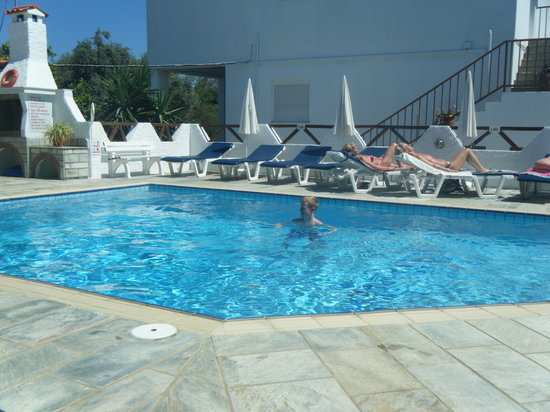 Skiathos Town, Grce : Lovely Pool 