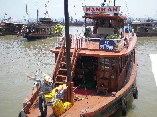Hanoi Capital Hotel : Halong bay Cruise