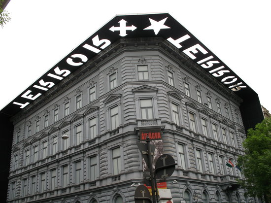 The Terror House in Budapest - image via hungarystartshere.com