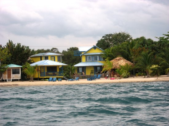 Maya Breeze Inn: Beachfront From Sea...