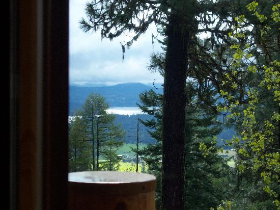 Cougar Crest Lodge: room with a view