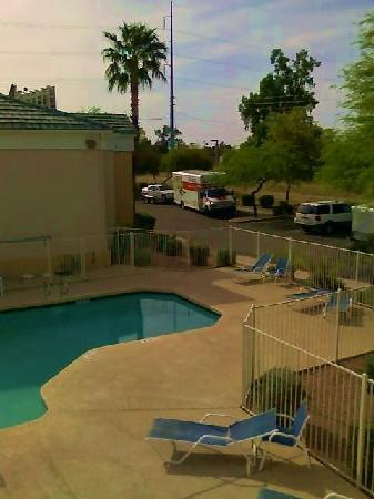 Extended Stay America - Phoenix - Metro - Black Canyon Highway: View from our 1st Room