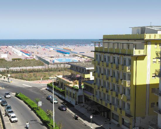 Sottomarina, Italia: esterno hotel