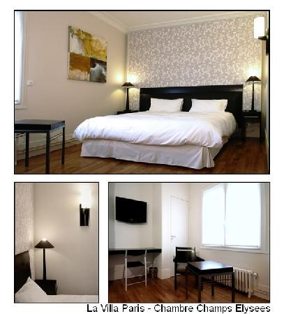 La Villa Paris - Chambre Champs Elysees