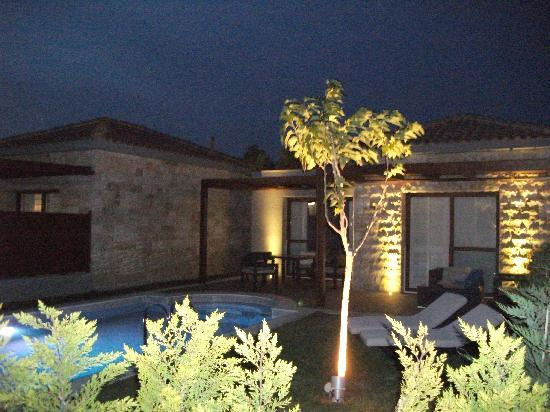 Holiday Village Rhodes: room with the private pool in the vip, area